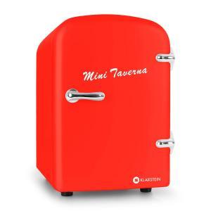 Klarstein Mini Taverna frigider 4l roșu