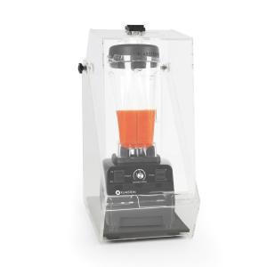 Klarstein Herakles 3G Stand Mixer negru cu Cover 1500W 2.0 CP 2 litri de protecție 40000 U / min zgomot BPA-free