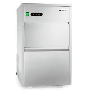 Klarstein industrie mașină de gheață 240W 25 kg / zi din oțel inoxidabil