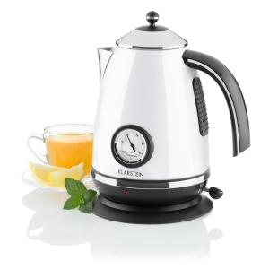 Klarstein Aquavita Chalet 2200 W 1.7 litri ceainic alb