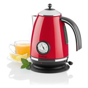 Klarstein Aquavita Chalet 2200 W 1.7 litri ceainic roșu