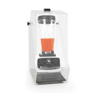 Klarstein Herakles 3G Stand Mixer alb cu Cover 1500W 2.0 CP 2 litri de protecție 40000 U / min zgomot BPA-free