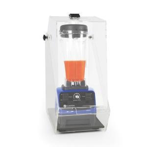 Klarstein Herakles 3G Stand Mixer albastru cu Cover 1500W 2.0 PS 2 litri de protecție 40000 U / min zgomot BPA-free