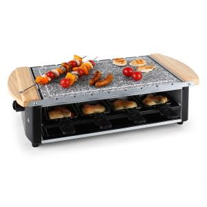 Klarstein raclett multifunctional cu frigarui gratar 8 persoane 1200W