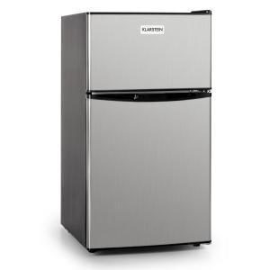 Klarstein Big Daddy frigider cool 80 litri Clasa A + din oțel inoxidabil negru