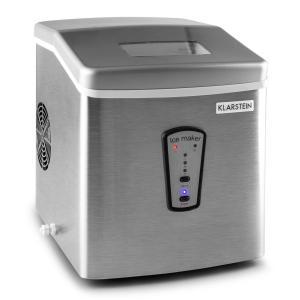 Klarstein Powericer Automat de gheață 180W 15 kg / zi din oțel inoxidabil