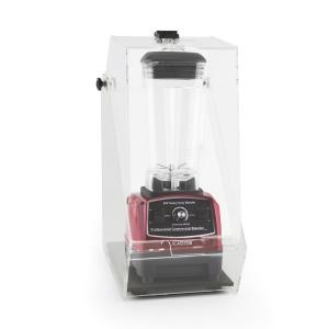 Klarstein Herakles 2G Stand Mixer rosu cu Cover 1200W 1.6 PS 2 litri, protecție 32000 U / min zgomot BPA-free