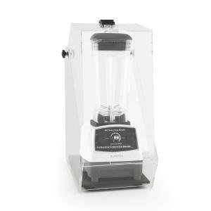 Klarstein Herakles 2G Stand Mixer alb cu Cover 1200W 1.6 PS 2 litri, protecție 32000 U / min zgomot BPA-free