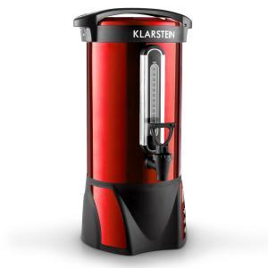Klarstein Big-Bacchus, 8,8 l, recipient pentru vin fiert, din oțel inoxidabil, roșu, portabil