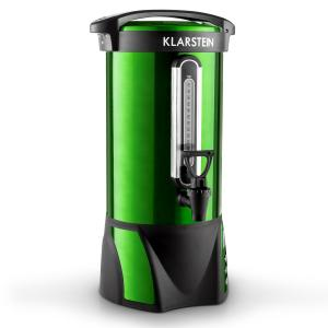 Klarstein Big Bacchus vin fiert cazan 8,8l din oțel inoxidabil verde portabil