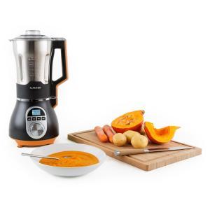 Klarstein Soup mixer din oțel inoxidabil 900W 1,75l, 100 de grade portocaliu