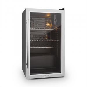 Klarstein Beersafe XXL frigider 80 litri usa de sticla, clasa C din oțel inoxidabil