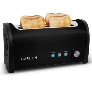 Klarstein Cambridge dublu în adâncime Slot toaster 1400W negru