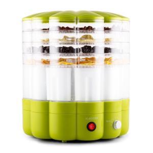 Klarstein YoFruit uscător de fructe 5 etaje cu filtru de iaurt verde
