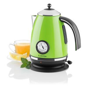 Klarstein Aqua Vita Cabana ceainic din oțel inoxidabil,verde 1,7 l 2200W