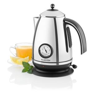 Klarstein Aqua Vita Cabana ceainic din oțel inoxidabil 1,7 l 2200W