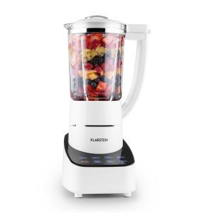 Klarstein Touch & Go, mixer de masă, 1.5 litri, ulcior din sticlă, 700W, control senzorial, alb
