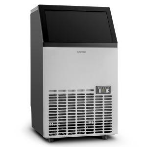 Klarstein Powericer ECO, dispozitiv pentru producerea cuburilor de gheață, 400 W, 45 kg/zi, timer, oțel inoxidabil