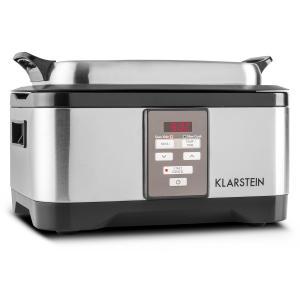 Klarstein Tastemaker Sous-Vide Garer, 550 W, 6 l, vas lent, oțel inoxidabil, argintiu