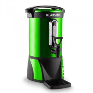 Klarstein Bacchus ceainic de vin 6,8 litri 950W din oțel inoxidabil verde portabil