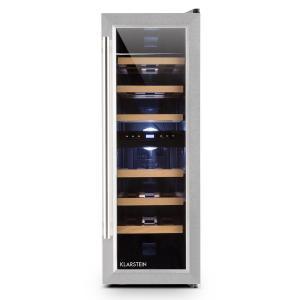 Klarstein Reserva Duett 12 frigider vin 65 litri de 21 de sticle de 2 zone
