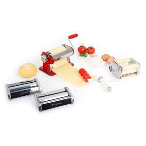 Klarstein Serena Rossa Paste Maker Paste Maker 3 atașamente din oțel inoxidabil de culoare roșie
