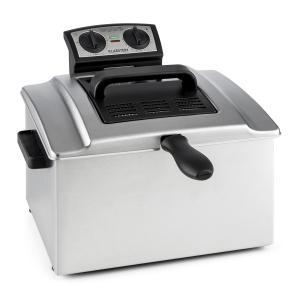 Klarstein QuickPro XXL 3000, 3000W, 5L, friteuză, oțel inoxidabil, 1,5 kg, cronometru