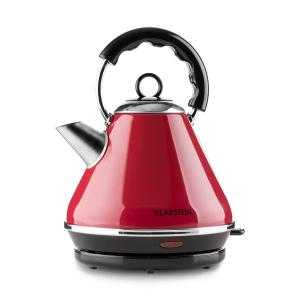 Klarstein Charlotte II ceainic wireless 2L 2200W rosu