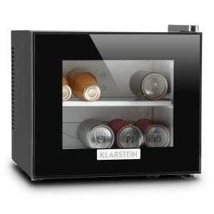 KLARSTEIN Frosty, negru, mini-frigider, 10 litri, 65W, clasa A +