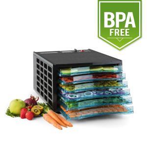 Klarstein uscator de fructe sacadat Pro 6 deshidratant mașină deshidratant uscator de 630W 6 etaje fara BPA