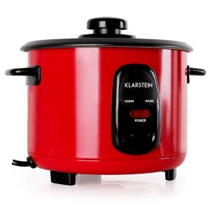 KLARSTEIN OSAKA 1, roșie, oală pentru orez, 1 litru, funcția de păstrare la cald
