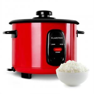 KLARSTEIN OSAKA, roșu, vas de orez, 500 W, 1,5 litri, funcția de păstrare la cald