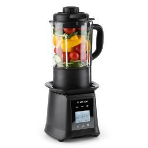 Klarstein Herakles Blender 1300 W / 1,7 PS 900 W ,1,75 L Castron de sticlă fără BPA negru
