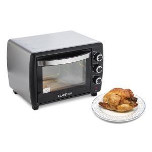 Klarstein Omnichef 30 2G mini cuptor cu rotisor 1500W 30 litri negru