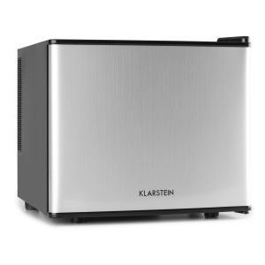 Klarstein mini-frigider mini-bar 17 litri 50W A + argintiu