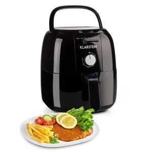 Fries Klarstein VitAir Basic Basic Friteuza cu aer cald fără ulei 1400 W 3l negru