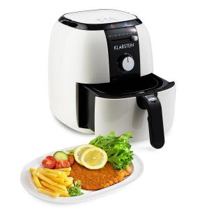 Fries Klarstein VitAir Basic Basic Friteuza cu aer cald fără ulei 1400 W 3l alb