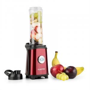 KLARSTEIN Tuttifrutti, roșu, Mini Mixer, 350W, 800 ml, lamă tip cruce, BPA
