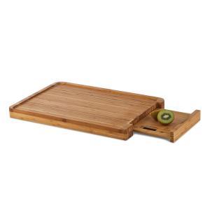 KLARSTEIN CHOPMASTER, placă de tăiat și scară de bucătărie, 5 KG, bambus