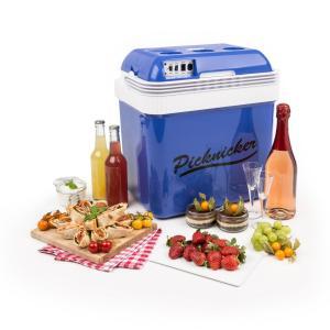KLARSTEIN BIG Picknicker, albastru, cutie de răcire, 24 L, A ++, AC, DC, AUTO
