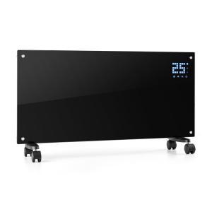 KLARSTEIN Bornholm, negru, încălzitor pe convecție, display LCD, 2000W, 2 nivele de setare a căldurii