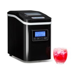 KLARSTEIN Lannister, negru, dispozitiv pentru prepararea cuburilor de gheață, 10 kg / 24 H