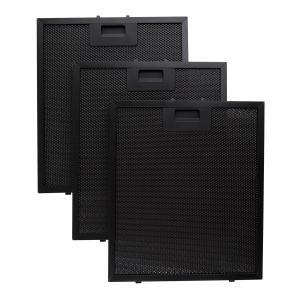 Klarstein filtru de grăsime din aluminiu, 26,5 x 31 cm, filtru de înlocuire , negru