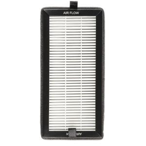 Klarstein Tramontana Filtru HEPA de schimb, accesoriu pentru purificatoarele de aer, 10x21 cm