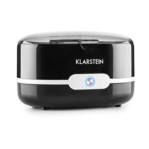 Klarstein Super Pure masina de curățat din oțel inoxidabil curat - negru 500ml