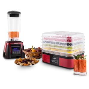 Klarstein Herakles-8G-R 1800 W, 2 l, blender de masă, Smoothie,fără BPA, blender de masă