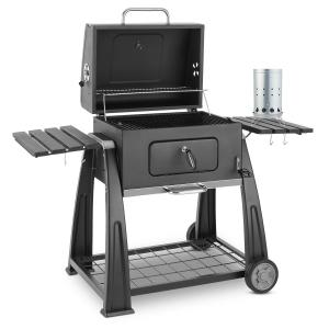 KLARSTEIN Bigfoot, set de grătar pe cărbune BBQ-SMOKER, aprinzător electric