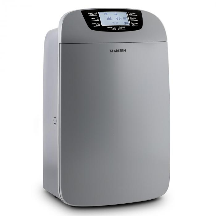 Drybest 40 Dezumidificator purificator de aer 40L / 24h negru-gri